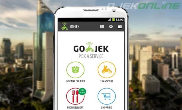 cara pesan Gojek dengan aplikasi