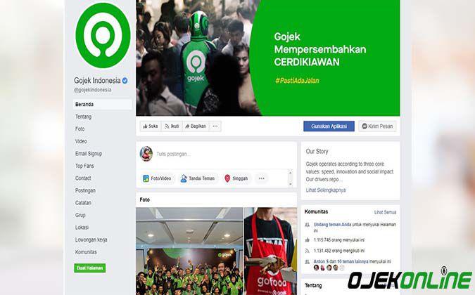 Facebook Resmi Gojek