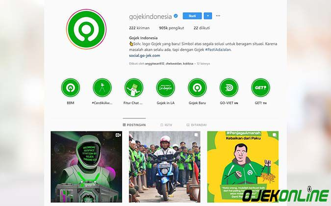 Instagram Gojek Indonesia