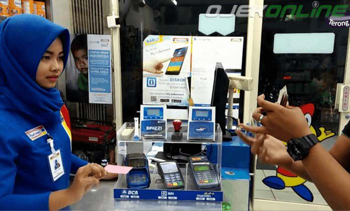 Cara Top UP Gopay Di Indomaret