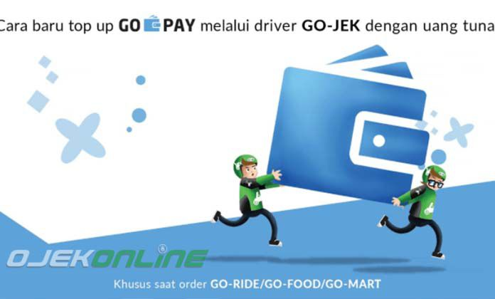 Cara Top UP Go Pay terbaru