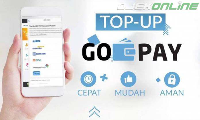 Cara Top Up GoPay Driver Gojek