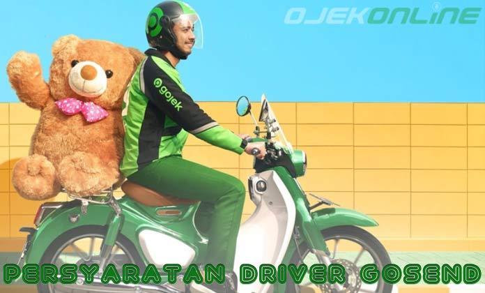 Persyaratan Driver Go Send