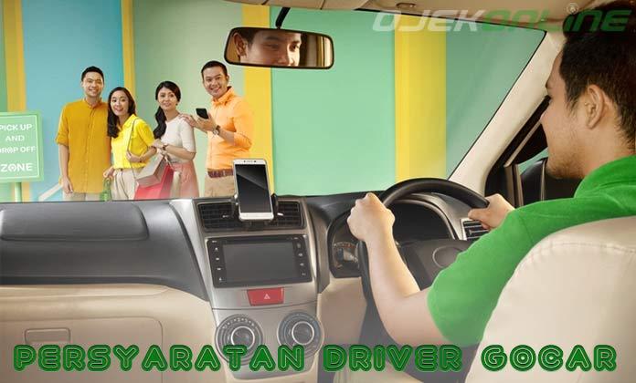 Persyaratan Driver GoCar