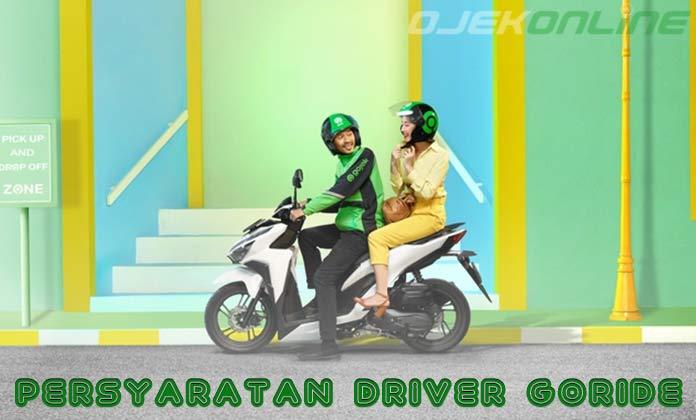 Persyaratan Driver Gojek Go Ride