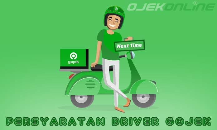 Persyaratan Driver Gojek