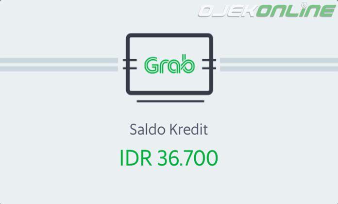 Saldo Kredit Grab