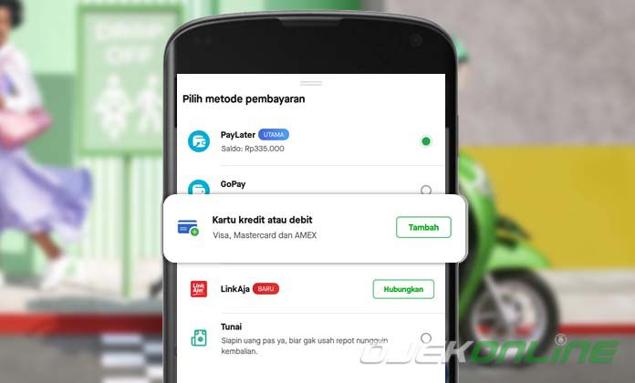Cara Bayar Gojek Dengan Kartu Debit Dan Kredit 2020