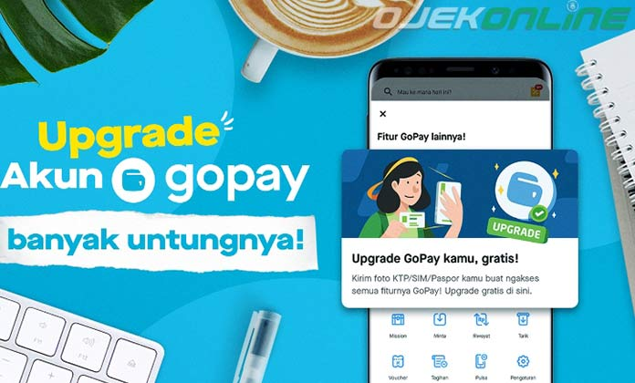 Cara Upgrade Gopay