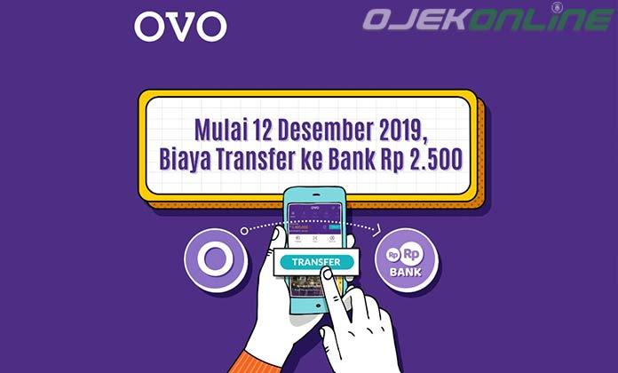 Biaya Transfer OVO Ke Bank Lain