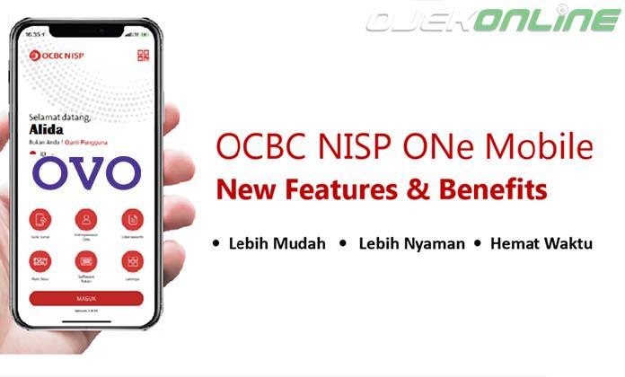 Cara Top Up OVO Dengan Bank OCBC NISP