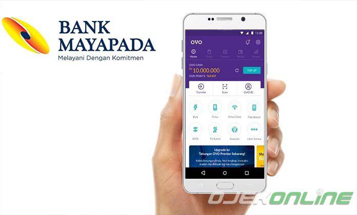 Cara Top Up OVO Lewat Bank MAYAPADA Terbaru