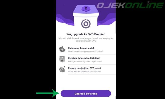 Upgrade Akun OVO
