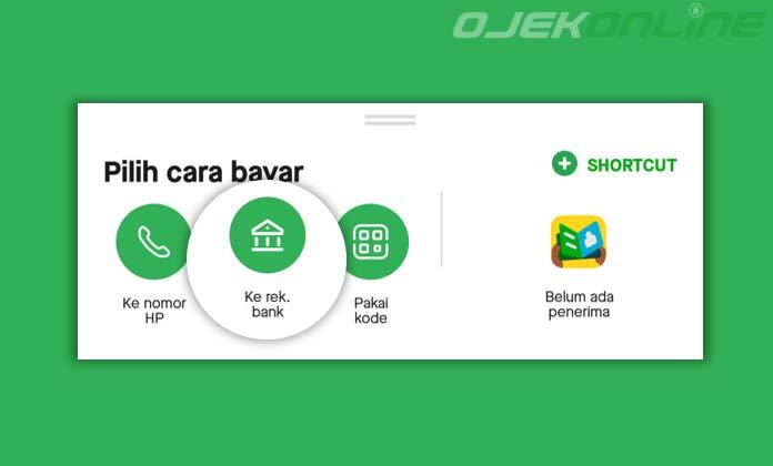 Cara Transfer Uang GoPay Ke Bank