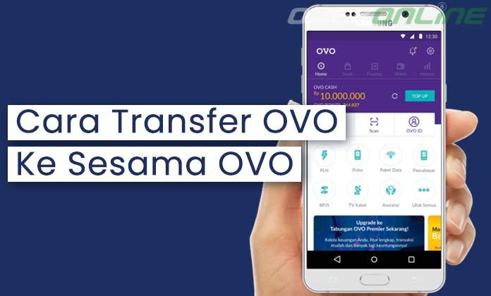 Cara Trasnfer OVO Ke OVO