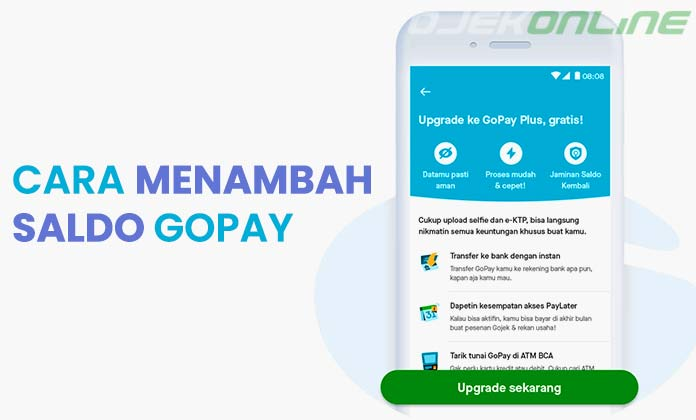 Cara Menambah Saldo GoPay