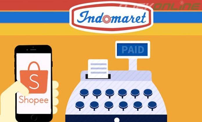 cara bayar shopee di Indomaret